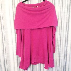 Soft Surroundings Weekend Layers Top in Orchid XS